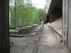 Kugelfang Schießplatz Gatow 2007